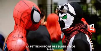 La Petite Histoire Des Super-Héros, la bande-annonce