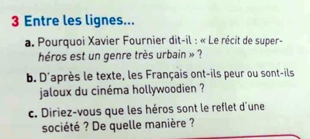 La méthode Super-Héros français