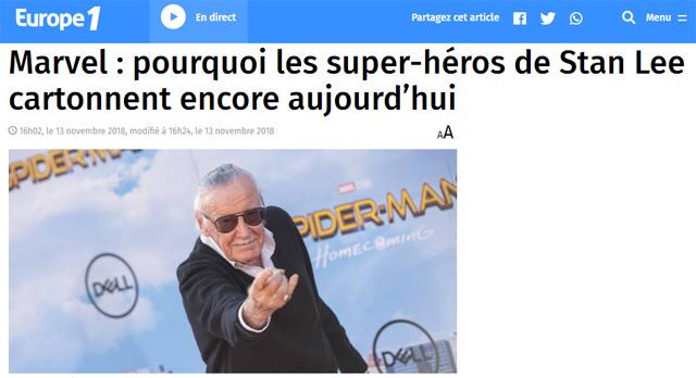 Interview dans Europe1.fr (13/11/2018)